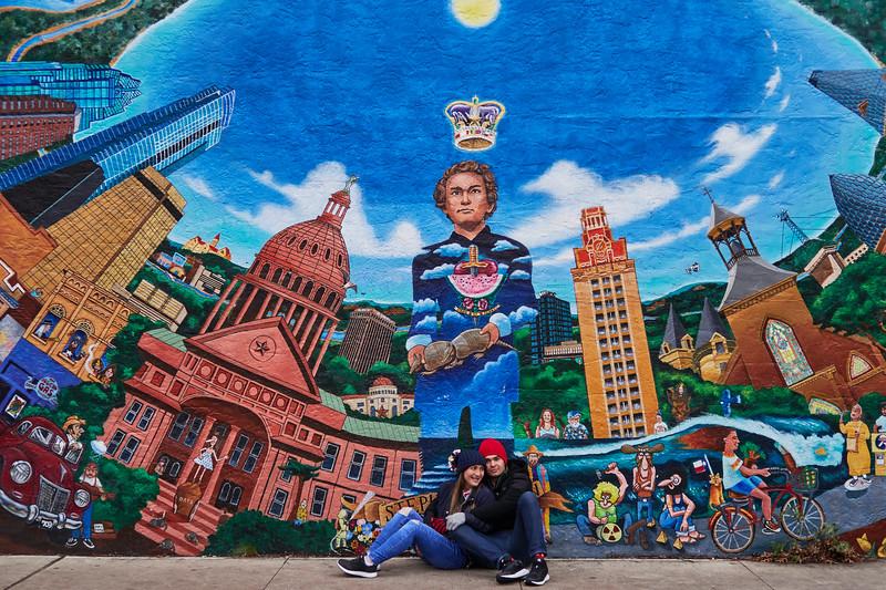 Stephan F. Austin Mural - Austin, Texas