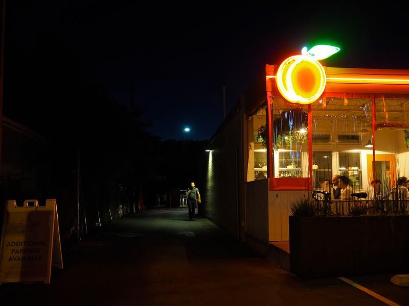Stranger in the Dark, Burnet Road - Austin, Texas