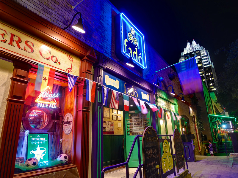 Colorful Fado, 4th Street - Austin, Texas