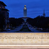 Sign and Tower, University of Texas - Austin, Texas