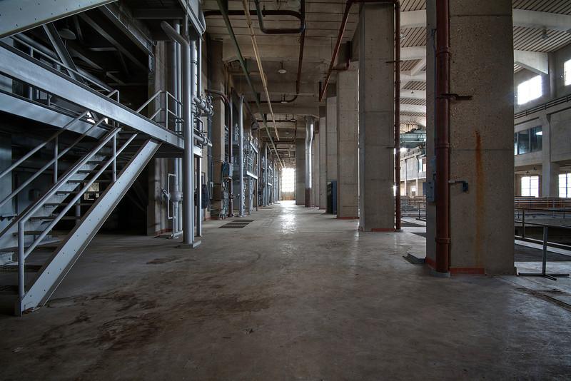 Seaholm Power Plant, Mechanical Wall - Austin, Texas