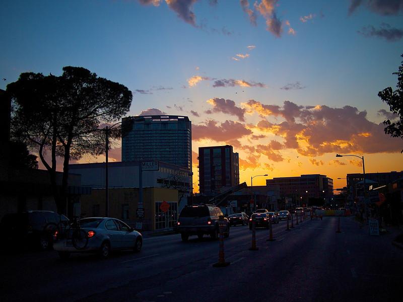 West 6th Sunset - Austin, Texas