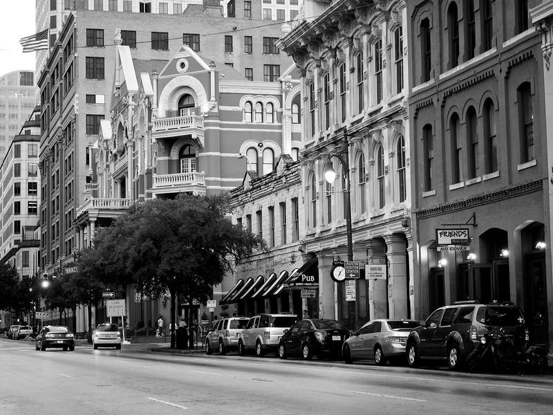 6th Street Facades - Austin, Texas