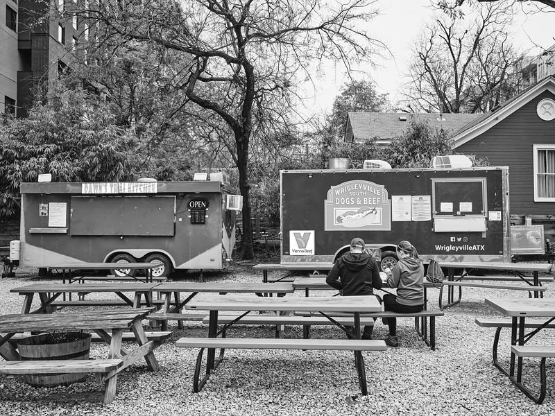 Rainey Street Food Truck Park - Austin, Texas
