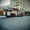 Fire truck, Congress Avenue - Austin, Texas