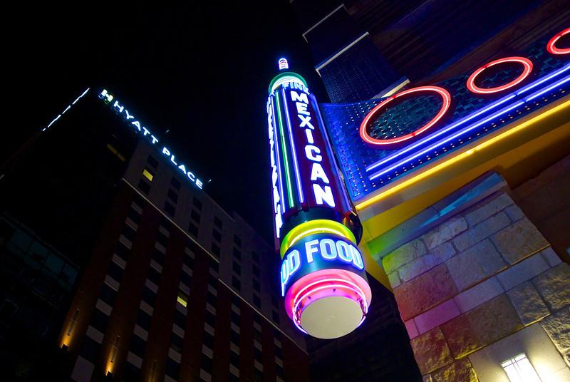 Mexican Food Neon - Austin, Texas