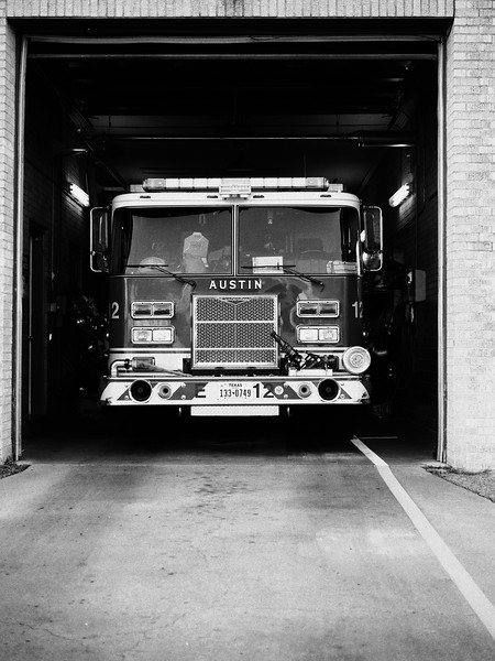 Fire Engine - Austin, Texas