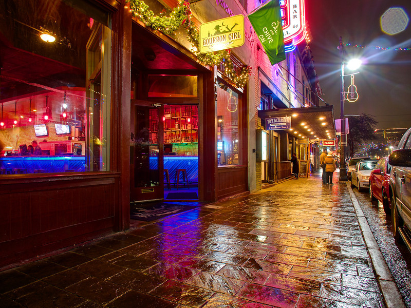 Bourbon Girl, 6th Street - Austin, Texas