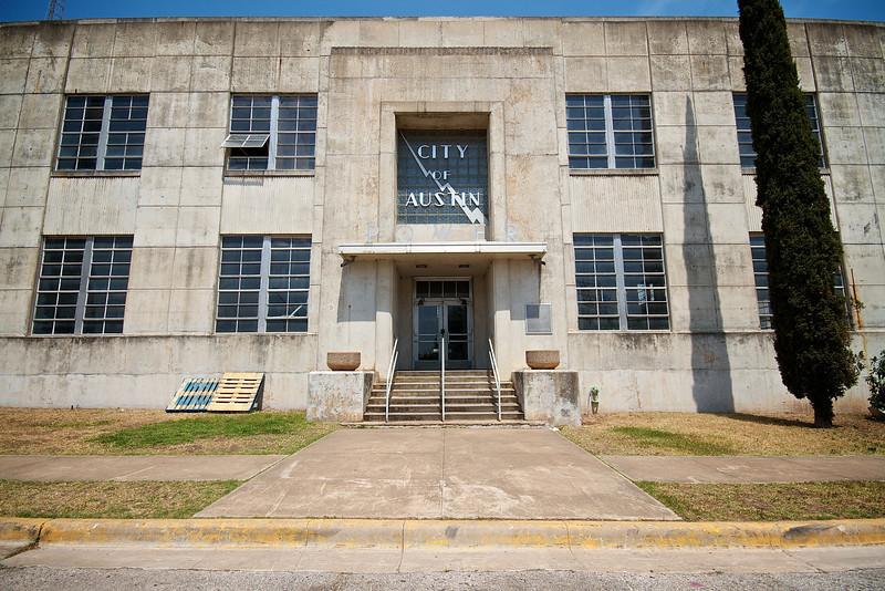 Seaholm Power Plant, Front Door - Austin, Texas