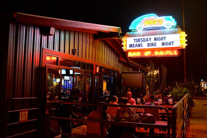 Doc's Patio and Neon, South Congress - Austin, Texas