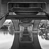 Lamar Blvd Bridge, Underbelly - Austin, Texas