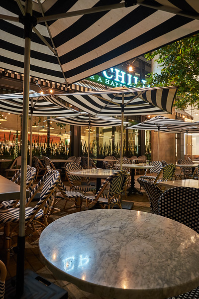 Cafe at Night - Austin, Texas (Fuji X-T10)