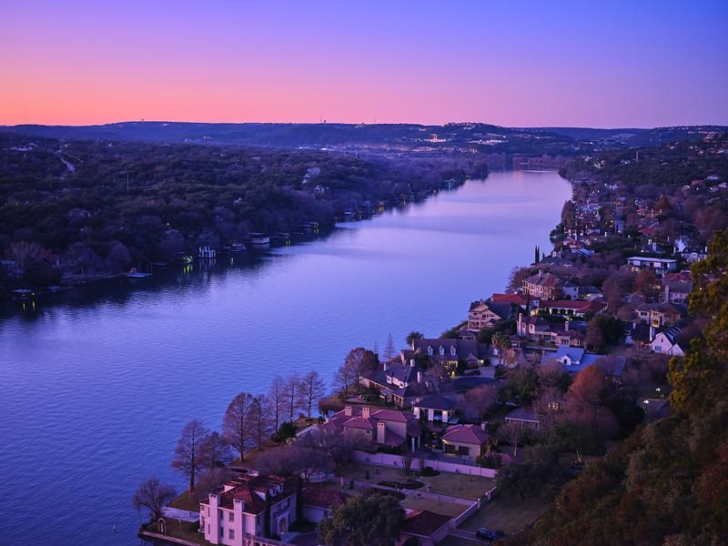 Evening Color, Mount Bonnell - Austin, Texas