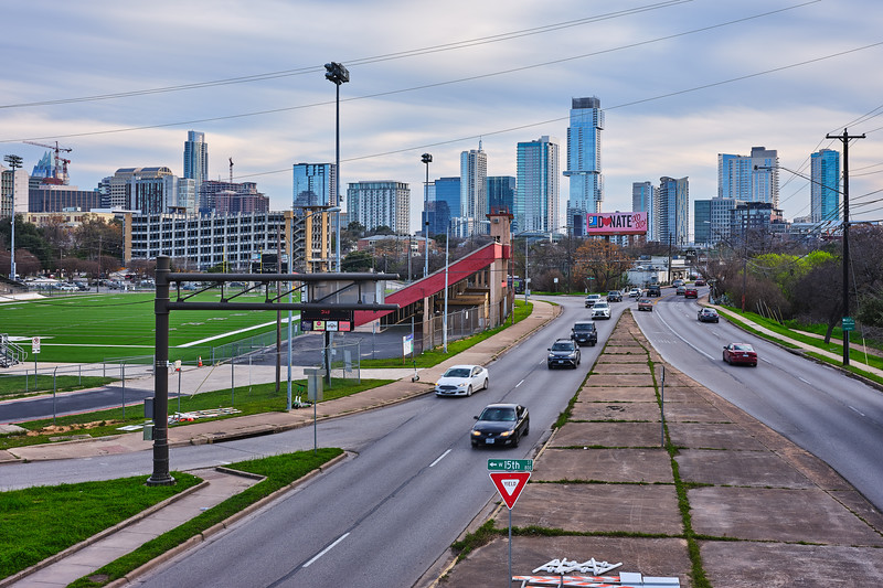 The Skyline from Enfield - Austin, Texas