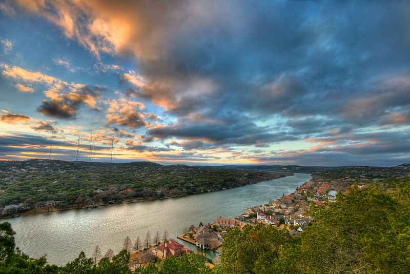 Mount Bonnell View - Austin, Texas