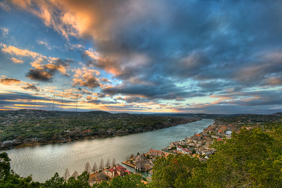 Mount Bonnell View - Austin, Texas