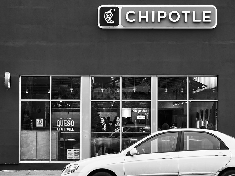 Chipotle, near University of Texas - Austin, Texas