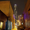 Old Alleyway and the New Austonian - Austin, Texas