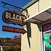 Black's Barbecue Sign - Austin, Texas