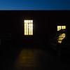 Lit Window at Blue Hour, Burnet Road - Austin, Texas