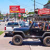 Jeep at Shoal Creek Saloon - Austin, Texas