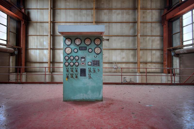 Holly Power Plant, Control Panel - Austin, Texas