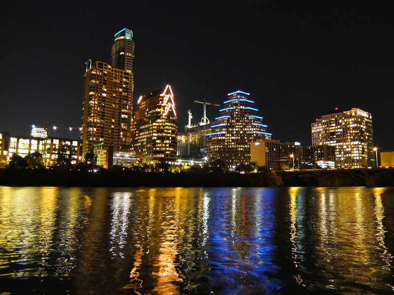 Downtown Reflections - Austin, Texas