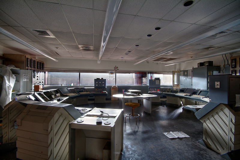 Holly Power Plant, Control Room #1 - Austin, Texas