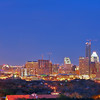 Downtown Skyline Blue Hour - Austin, Texas