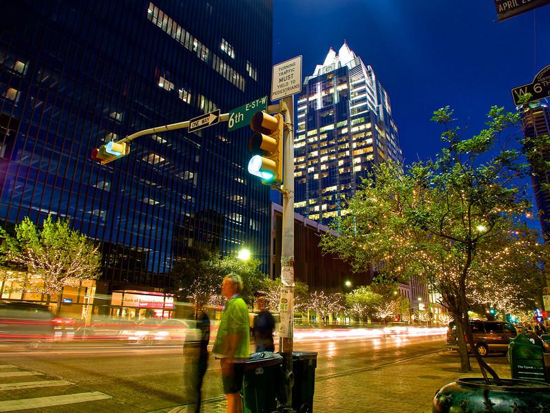 6th and Congress Sparkles - Austin, Texas