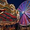 Carousel and Ferris Wheel, Rodeo Austin - Austin, Texas