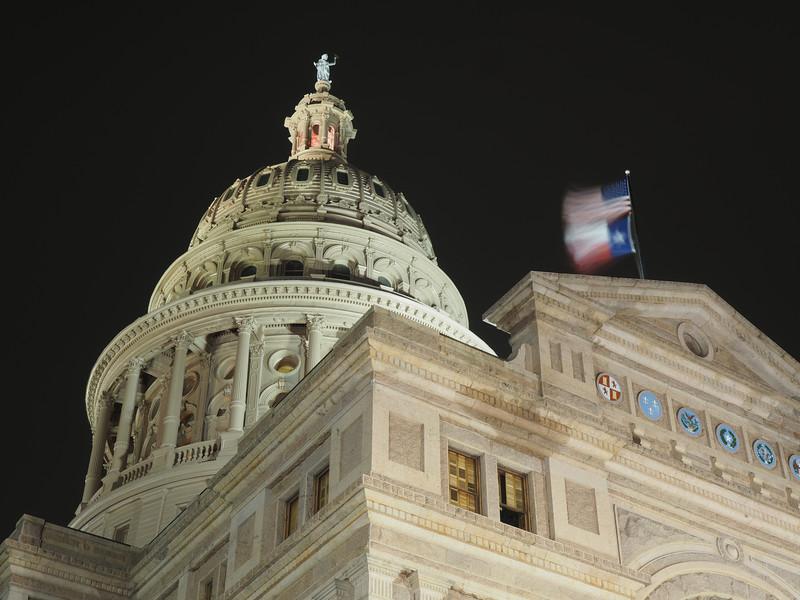 Dome Exterior, Texas State Capitol - Austin, Texas