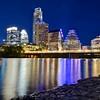 Rocky Shoreline, Ladybird Lake - Austin, Texas