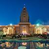 Hindu Temple at Blue Hour - Austin, Texas