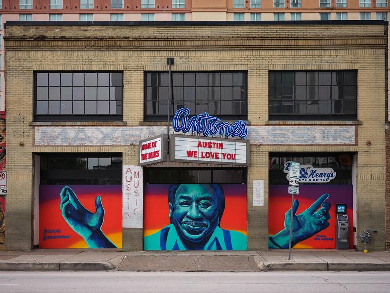 Antone's Pandemic Mural - Austin, Texas