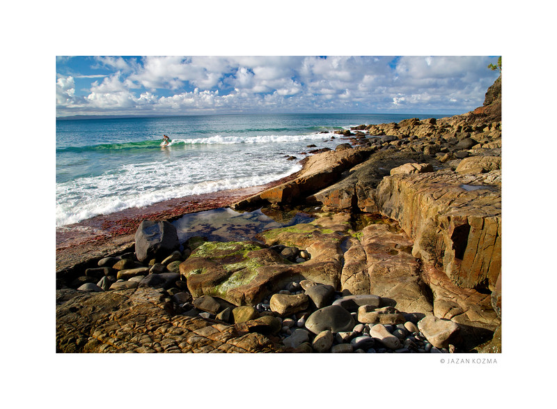 Surf Break at Noosa Heads