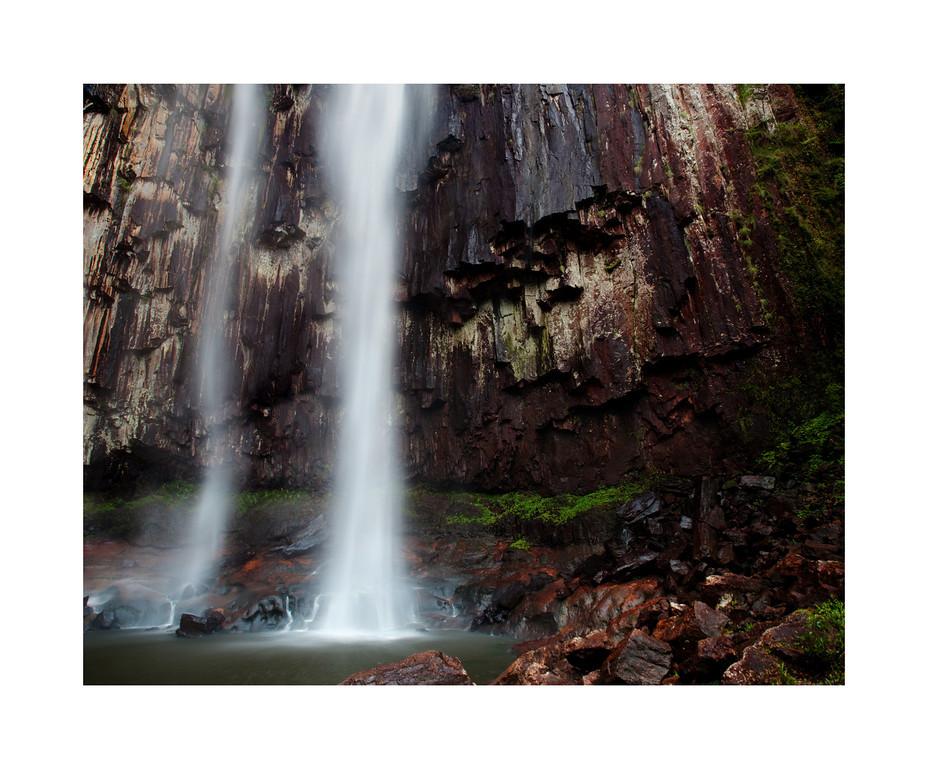 Minyon Falls Base - Nightcap National Park, Australia.