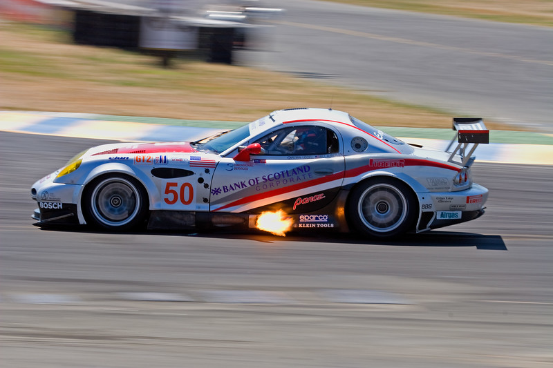 Exhaust Flame<br /> Sears Point Raceway