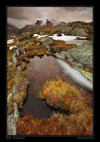 Col du Grimsel - Valais - Octobre 2008