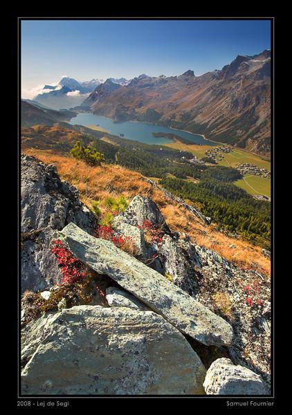 Lac de Segl et col de la Maloja - Grisons - Septembre 2008