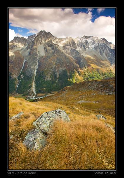 Val d'Hérens - Valais - Octobre 2009
