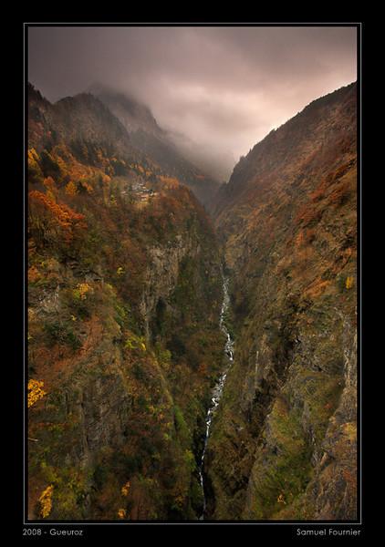 Gorges du Trient et Gueuroz - Valais - Novembre 2008