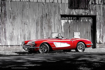 1958 Corvette  - From a recent client commissioned shoot.. This was without a doubt the most rewarding automotive shoot I've done in a long time..  This beautifully restored 'resto-rod' has been upgraded in all the right places and shows so very well..