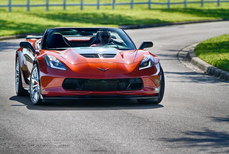 A Rare Daytona Sunrise Orange Metallic Z06/Roadster Combination - 2016 Corvette