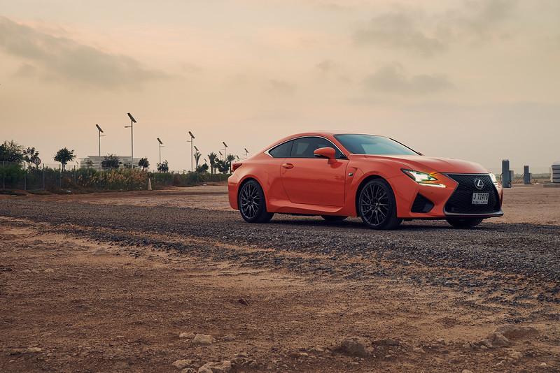 Lexus RCF - Stance