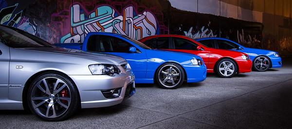 Ford BA & BF Falcon XR6 Turbos - Melbourne