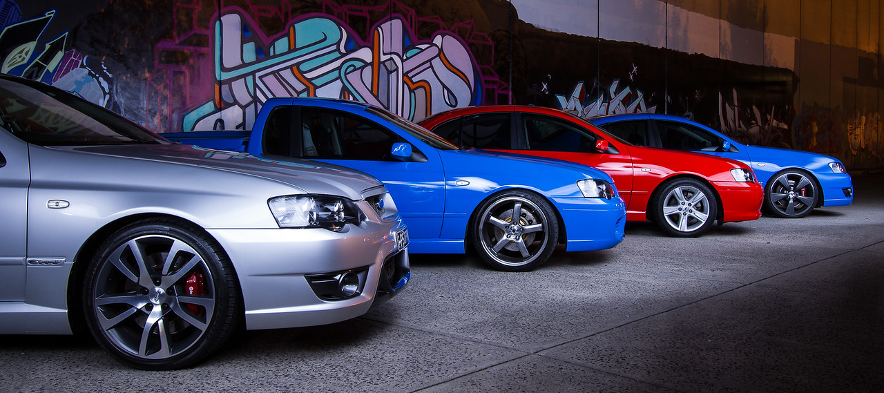 Ford BA & BF Falcon XR6 Turbos - Melbourne