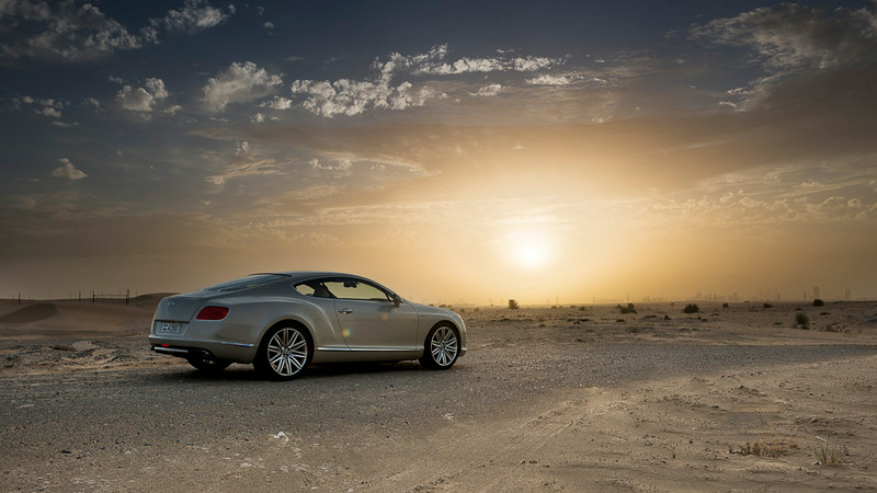 Bentley Continental GT - Sunset