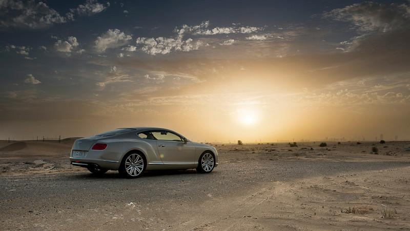 Bentley Continental GT - Sunset
