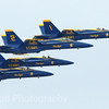 Blue Angels in Flight